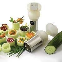 EurodibステンレススチールTurnup野菜カッター、53/ 4x 1–3/ 4インチ- 1各。