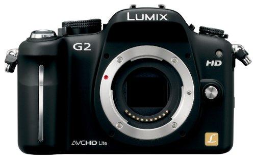 Panasonic デジタル一眼カメラ G2ボディ コンフォートブラック DMC-G2-K