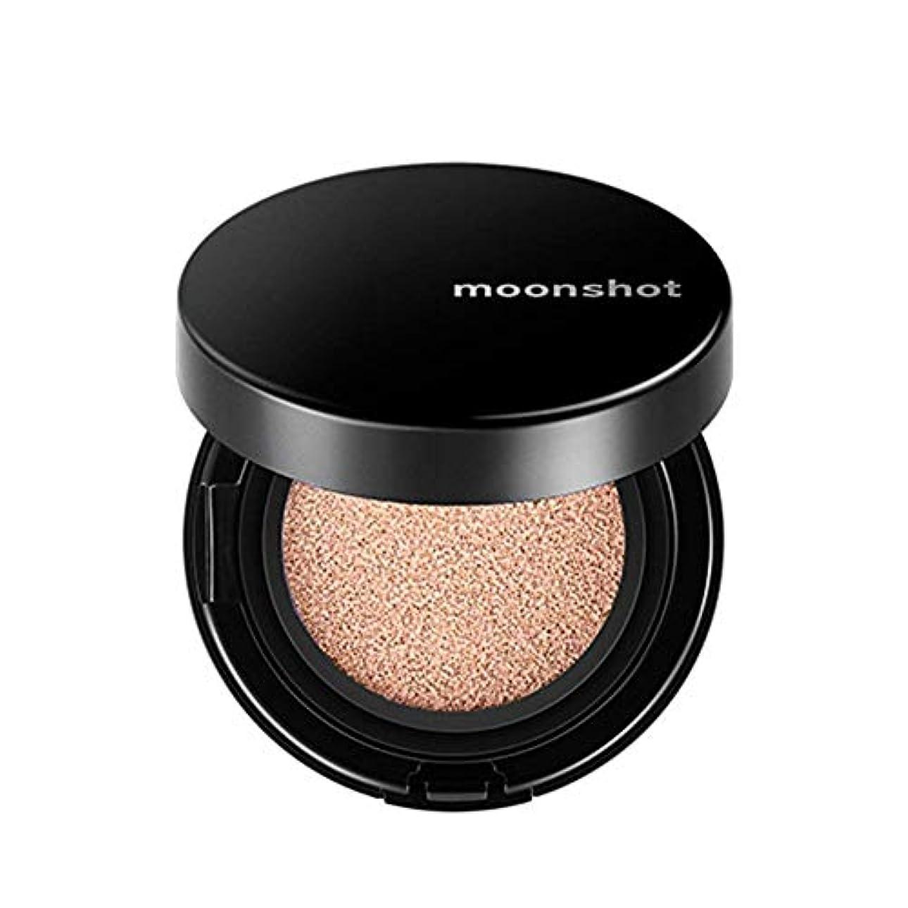 調査問題余暇ムーンショット(moonshot) ブラックピンク マイクロフィットクッションファンデ 201