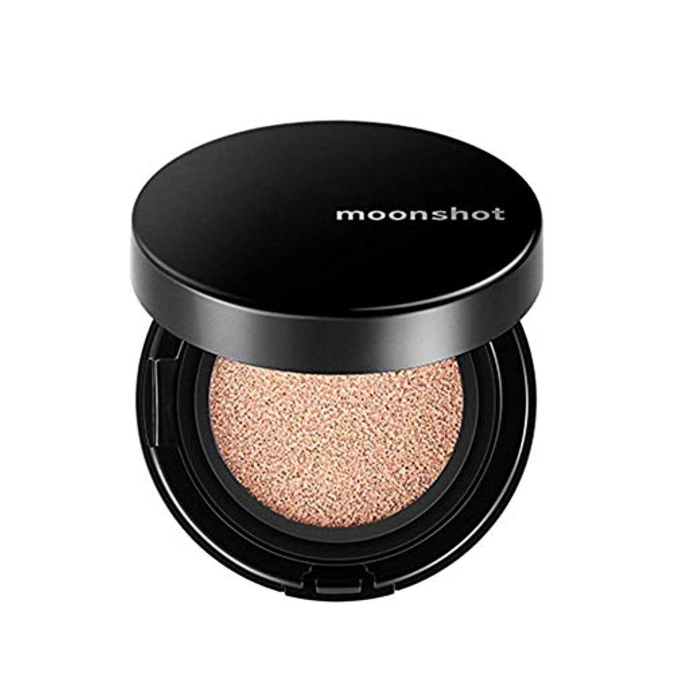 面積懲らしめ鮮やかなムーンショット(moonshot) ブラックピンク マイクロフィットクッションファンデ 201