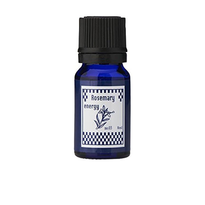 昆虫スパンバイアスブルーラベル アロマエッセンス8ml ローズマリー(アロマオイル 調合香料 芳香用)