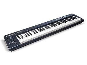M-Audio MIDIキーボード 61鍵 ピアノ音源ソフト付き Keystation 61