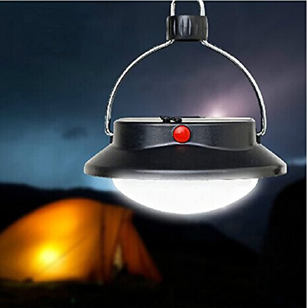 広告生命体クレアLixada 吊下げ LED キャンプライト 円形テントライト 高輝度60 LED搭載 3段階調光 LEDランタン アウトドアスポットライト ブラック