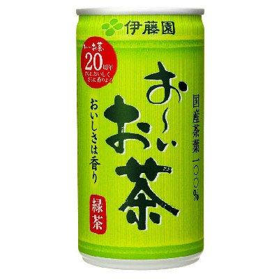 伊藤園 お?いお茶 緑茶 190g缶 1ケース(30缶入)