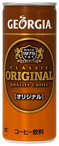 コカ・コーラ ジョージア オリジナルコーヒー 缶 250g×30本