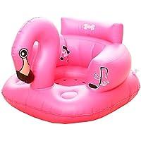 HAMILO バスチェア フラミンゴ ベビー バスソファ 赤ちゃん 椅子 お風呂 プール ビーチ 海 入浴補助具