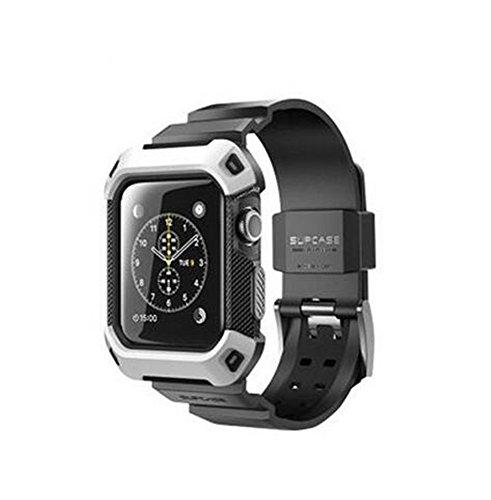 [アイ・エス・ピー]isp 正規品 Apple WATCH IWATCH 38MM 42MM アップルウォッチ バンド 交換ベルト 保護カバー メンズ レディース 完全保護 一体型 耐衝撃 スポーツ