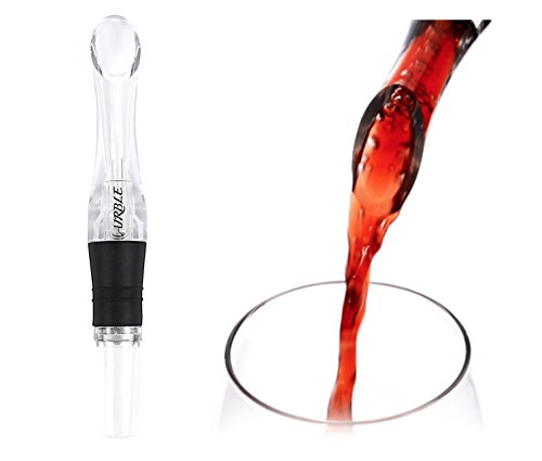 ポアラー ワインエアレーター 瞬間デキャンティング エアーブレンド 空気を含ませワインの風味を高めるタイプ