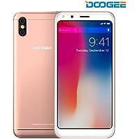 SIMフリースマートフォン, DOOGEE X53-5.3 インチ 18:9 HD Android7.0 3G (au不可) SIMフリー 1+16GB 2200mAh バッテリー 5MPカメラ クアッドコア スマートフォン本体 金 一年保証