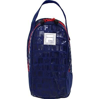 高波クリエイト FILA シューズケース [上履き袋/上履きバック] ブルー 053463