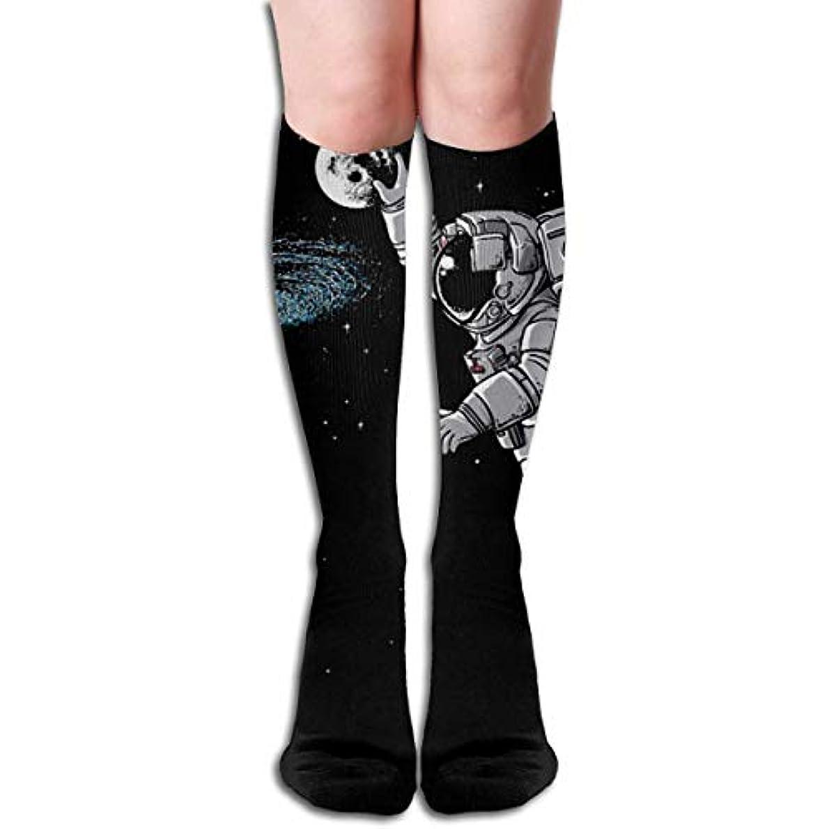 ディベートフリッパートラフィックQrriyクリスマス靴下宇宙飛行士ダンク月銀河の非スリップ家庭床ソックス冬居心地の良いスリッパ靴下女性男性