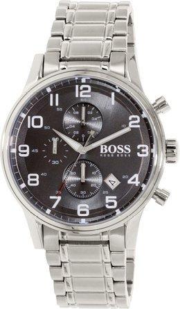 ボス・ヒューゴ・ボス Hugo Boss Men's Chronograph Aeroliner S...