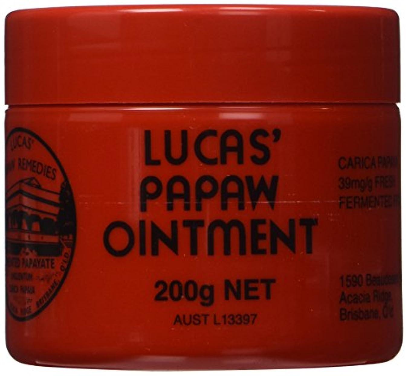 母音修復復活Lucas Papaw Ointment 200g