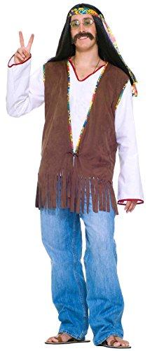 Faux Suede Hippie Vest Costume フォークススエードヒッピーベストコスチューム♪ハロウィン♪サイズ:Standard (One-Size)