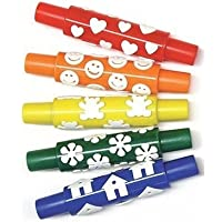 Wonderfoam Pattern Rollers (Set of 5) [並行輸入品]