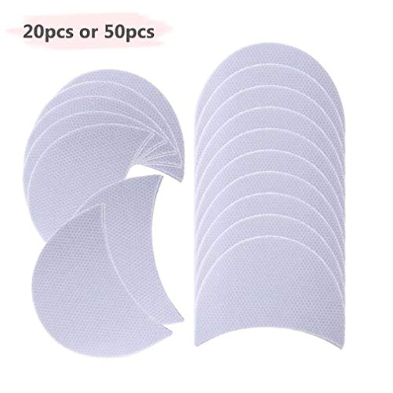 半円製品アイシャドウシールズパッチまつげパッドの下翼のアイライナーステッカーメイクレディ女性化粧品アイシャドウ紙