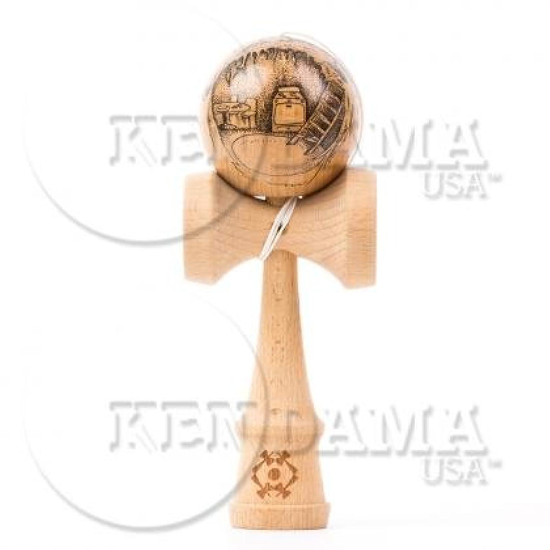 KENDAMA USA けん玉 Custom-カスタム- サワーマッシュ マスターイラストシリーズ #39-Gnome Home