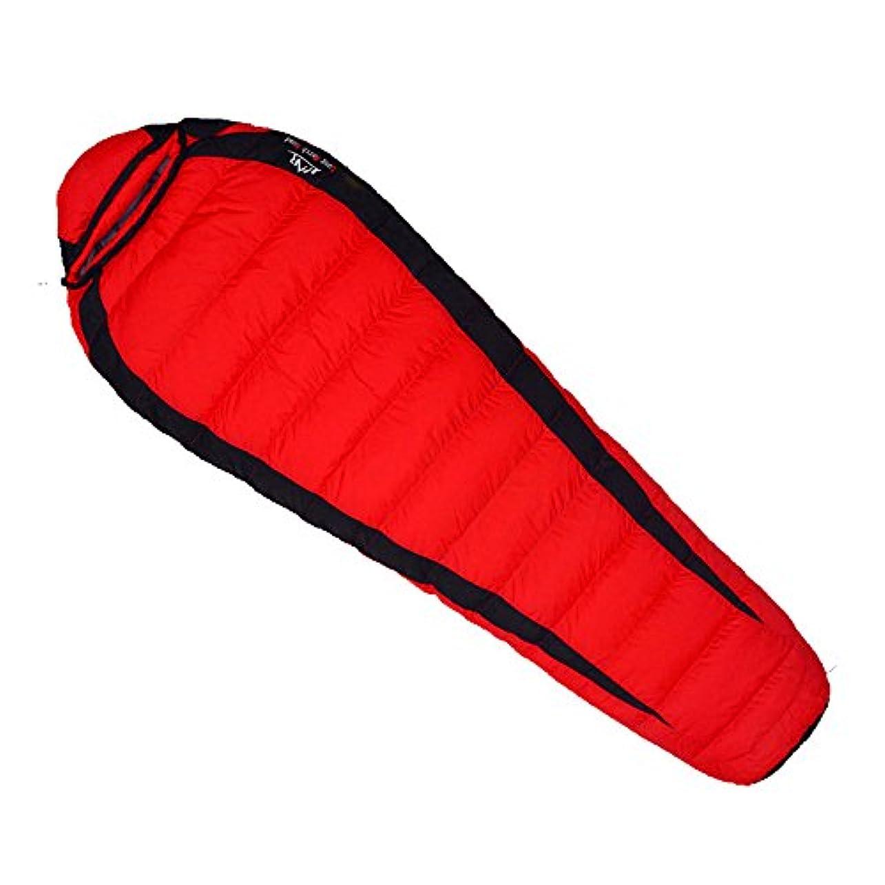 ダイヤモンドマニア病弱Waterly 屋外のキャンプのための通気性の防湿弾性伸縮性のある寝袋を厚くする帽子の寝袋が付いている携帯用暖かい寝袋 顧客に愛されて