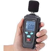 デジタル騒音計 デジタルノイズテスター 30〜135dB精密 ミニ家庭用騒音計 デジタルデシベルメーター プロのノイズ検出器 MESTEK SL620 工場、オフィス、家庭、学校などに適用