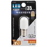 LEDナツメ球 E17/0.8W 電球色 LDT1L-H-E17 11 07-6464 【まとめ買い10セット】