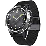 WINAWORLD 2020year P8/BlackMetall Smart Watch ECG+PPG+SpO2 Heart Rate Blood Pressure Blood Oxygen Electrocardiogram 24 Hour Monitoring Sport Tracker Calorie Pedometer Detection IP68 Waterproof
