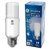 GE LED電球 E26 40W形 T形 昼白色 485lm 全方向 LDT6N-G (昼白色, 40W)