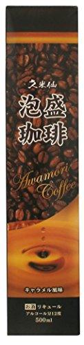 久米仙酒造 久米仙 泡盛コーヒー 500ml  [沖縄県]