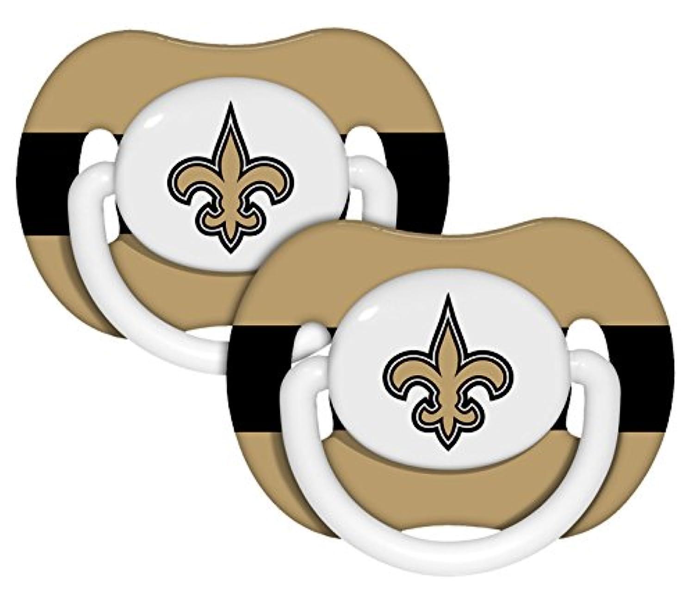 新しいOrleans Saintsおしゃぶり2パック