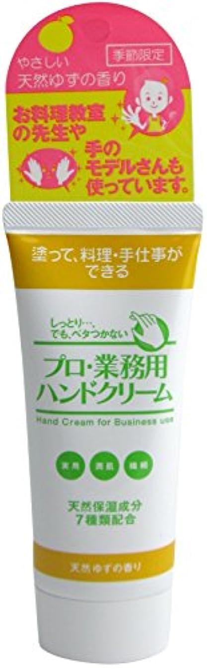 征服大気熱心なプロ業務用ハンドクリーム 天然ゆずの香り