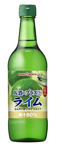 ポッカ お酒にプラスライム 540ml