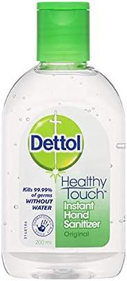 Dettol Healthy Touch Liquid Antibacterial Instant Hand Sanitiser Original 200 Milliliters