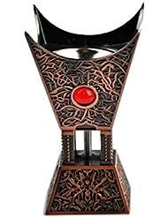 Arabia Incense / bakhoor Burner ( Mabkhara ) – Oud Burner、ブロンズ、トレイInside – USA Seller