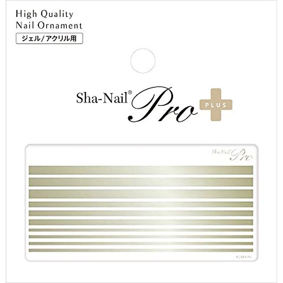公園市区町村選択するSha-Nail PLUS ボールドライン シャンパンゴールド ネイルシール