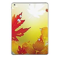 第1世代 iPad Pro 12.9 inch インチ 共通 スキンシール apple アップル アイパッド プロ A1584 A1652 タブレット tablet シール ステッカー ケース 保護シール 背面 人気 単品 おしゃれ フラワー 紅葉 秋 001283