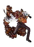 """フィギュアーツZERO ONE PIECE """"三大将"""" サカズキ -赤犬- 約180mm PVC&ABS製 塗装済み完成品フィギュア"""