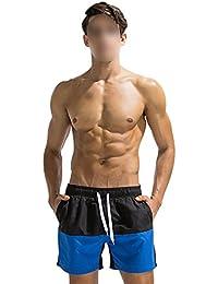 Juleyaing 男性水着 サーフパンツ スイミングトランク メンズ 水泳パンツ 海水パンツ 速乾性パンツ ファッション おしゃれ