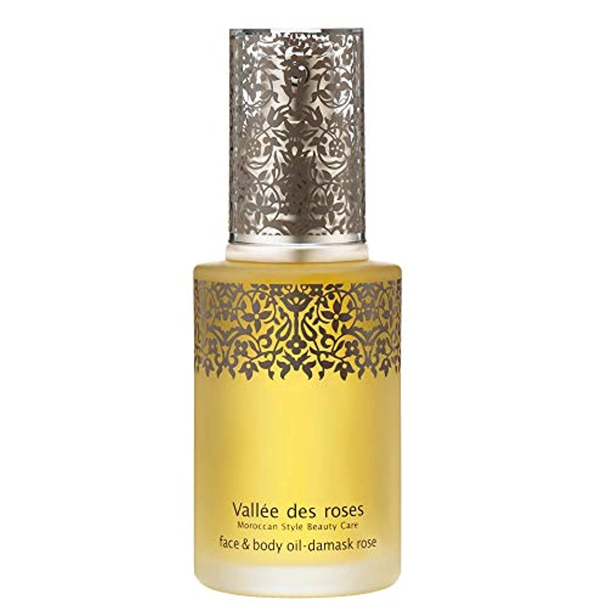 ファイバ長さ粘土ヴァレ ド ローズ(Vallée des roses) ヴァレ ド ローズ フェイス&ボディオイル 美容液 ローズ、ゼラニウム 60mL