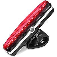 自転車ledテールライト usb充電 6モード 防水 強力 軽量 セーフティーライト リアライト型番「RP04」