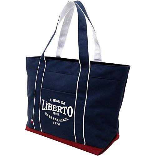 (リベルト エドウィン) LiBERTO EDWIN トートバッグ キャンバス ポリエステル ファスナー付き 4color Free レッド