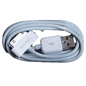 HanyeTech iPad/iPhone4/4S/3GS/3G/iPod 対応 充電・データ転送1m ホワイト