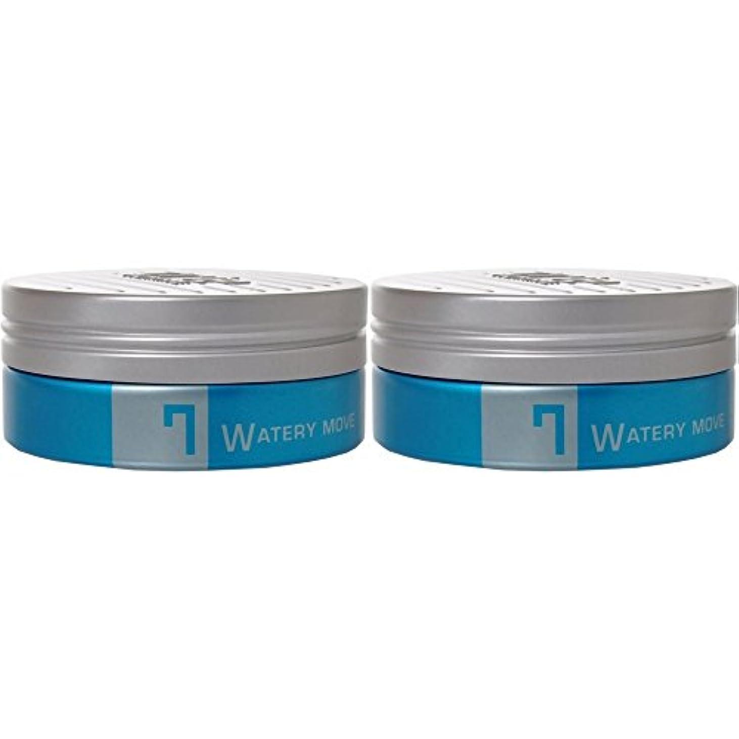 範囲吸収剤そうルベル トリエオム ワックス ウォータリームーブ7 <105g×2個セット> Lebel Trie HOMME スタイリング