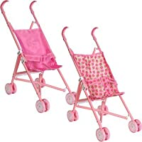 Working Sun Stroller for Dolls, 21.5 inches tall, print may vary by Greenbrier [並行輸入品]