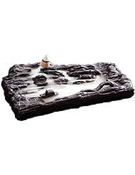 ホームアロマバーナー レトロな懐かしい香炉紫砂香バーナー屋内茶道香バーナーアロマセラピー炉 アロマバーナー (Color : Purple sand)