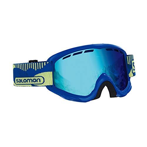 サロモン(SALOMON) スキー スノーボード ゴーグル ジュニア JUKE Blue Pop/Mid Blue L40517800