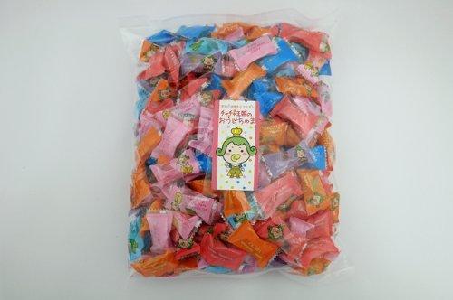 おうじちゃまキャンディー 1kgパック フルーツミックス