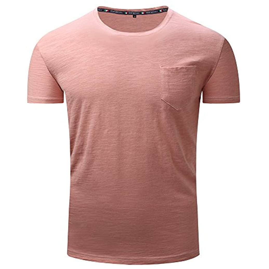 専門知識帳面不変メンズ シャツ Rexzo 純色 吸汗速乾 スポーツシャツ シンプル 機能性 Tシャツ 通気性いい 柔らかい スウェットシャツ 上質 着心地良い トレーニングウェア フィットネス 活動性が良い シャツ 大きいサイズ 日常...