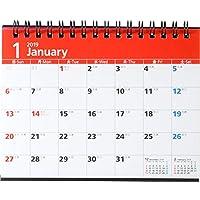高橋 2019年 カレンダー 卓上 A6 E132 ([カレンダー])