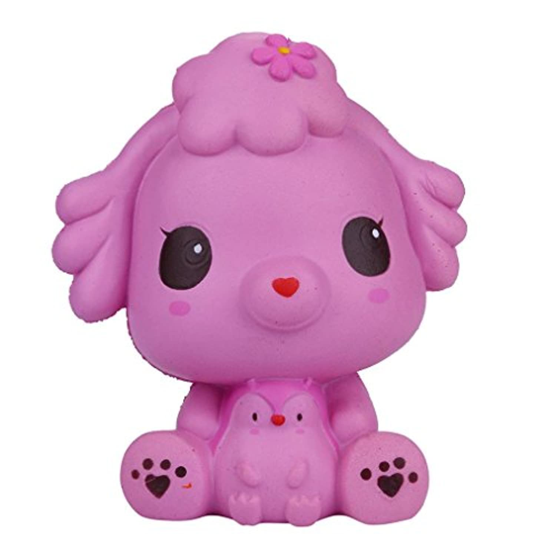 ジャンボSquishies、かわいい子犬Slow Rising香りつきSqueeze Toys