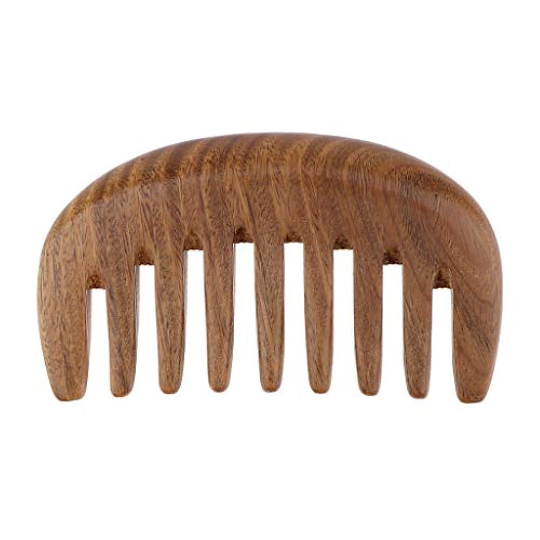 ローラー衝突する想像するヘアブラシ 木製 ヘアコーム ウッドコーム 帯電防止櫛 ヘアケア くし 櫛 3色選べ - ベラウッド