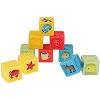 Baoblaze 積み木 赤ちゃんおもちゃ 想像力を育つ知育玩具 おままごと お誕生プレゼント 10個セット